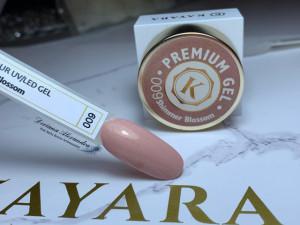 Gel color premium UV/LED Kayara 009 Shimmer Blossom