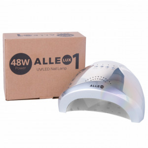 Lampa uv Led Dual 24/48w Allelux Unicorn Silver