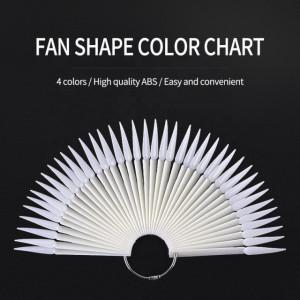 Paletar 40 x tipsuri de prezentare Stiletto Natural