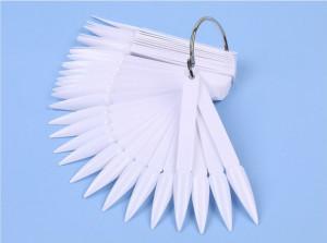 Paletar 40 x tipsuri de prezentare Stiletto White