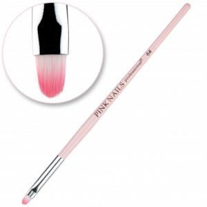 Pensula ovala #6 Pink Nails
