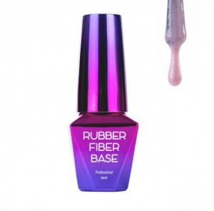 Baza Rubber MollyLac Fiber Silky Shimmer 10ml