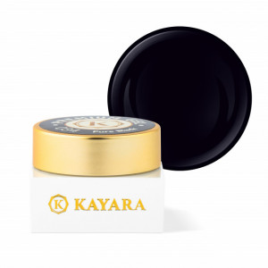 Gel color premium UV/LED Kayara 034 Pure Black
