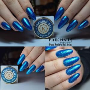 Gel color premium UV/LED Kayara 144 Bosphorus Glam