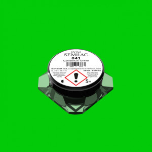 Gel color Semilac 041 Caribbean Green 5ml