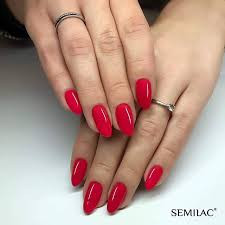 Gel color Semilac 066 Glossy Cranberry 5ml