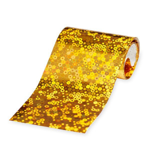 Folie de transfer Gold Sequins