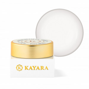 Gel color premium UV/LED Kayara 001 Pure White