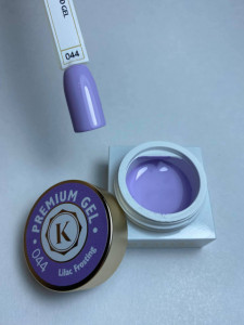 Gel color premium UV/LED Kayara 044 Liliac Frosting
