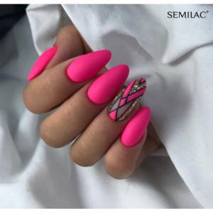 Gel color Semilac 043 Electric Pink 5ml