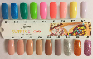 Gel color Semilac 132 Orange Lollipop 5ml