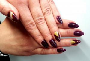Gel color Semilac 099 Purple Wine 5ml