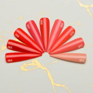 Gel color premium UV/LED Kayara 070 Fusion Coral