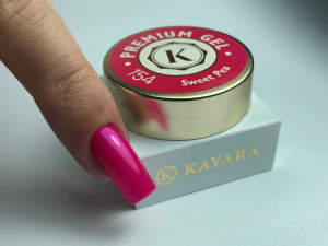 Gel color premium UV/LED Kayara 154 Sweet Pea