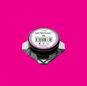 Gel Spider Gum Semilac - pink neon 5ml