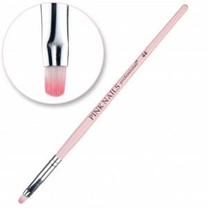 Pensula ovala #4 Pink Nails