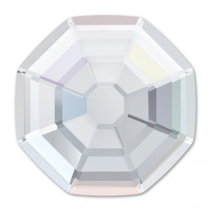 2 cristale Swarovski Solaris AB 8mm