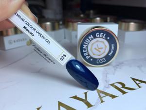 Gel color premium UV/LED Kayara 033 Mercury