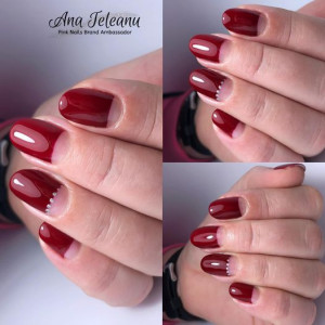 Gel color premium UV/LED Kayara 050 Sour Cherry
