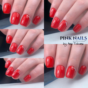 Gel color Semilac 039 Sexy Red 5ml