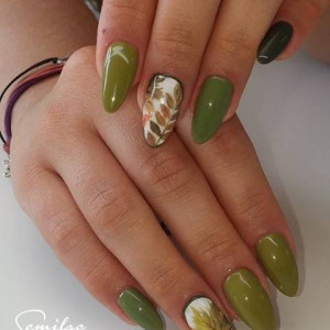 Gel color Semilac 149 Olive Garden