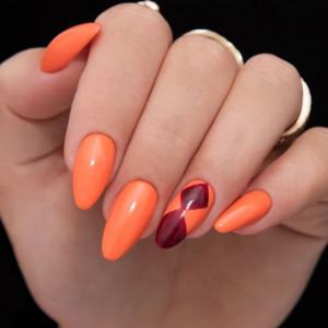 Gel color Semilac 158 Orient Mandarin 5ml
