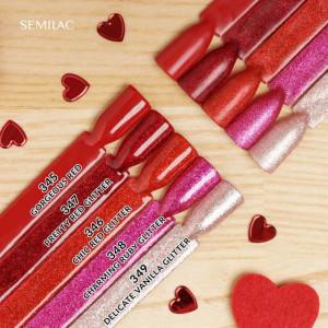Semilac 345 Gorgeous Red 7ml