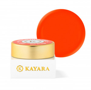 Gel color premium UV/LED Kayara 089 Hot Orange