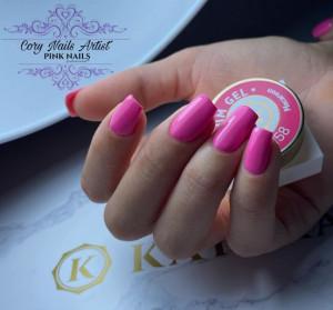 Gel color premium UV/LED Kayara 158 Macaroon