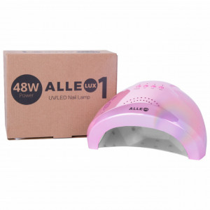Lampa uv Led Dual 24/48w Allelux Unicorn Pink