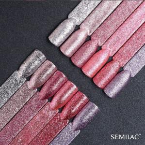Semilac 295 Peach Pink Shimmer 7ml
