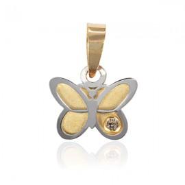 Medalion - Fluturas cu pietricica