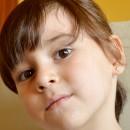 Cercei copii - Margarete bicolore