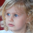 Cercei copii - Libelule rosii