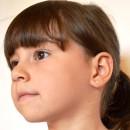 Cercei copii - Catelusi cu funtita roz
