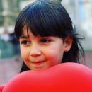 Cercei copii - Inimioare rosii