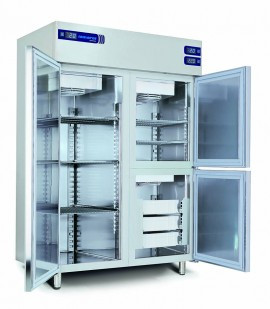 Dulapuri frigorifice cu temperatura pozitiva+negativa