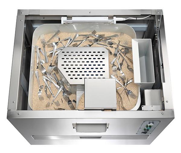 Masini de lustruit si sterilizat tacamuri