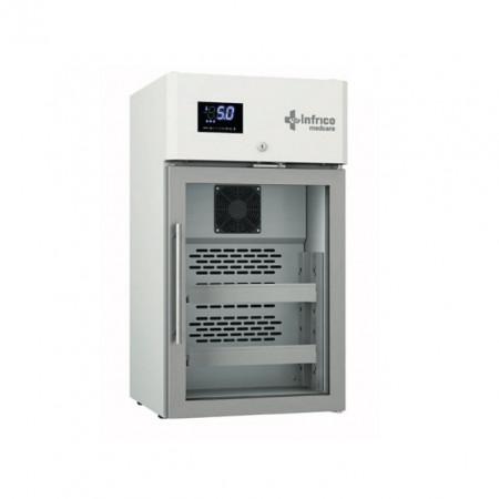 Dulap frigorific pentru laborator cu usa de sticla, 70 litri