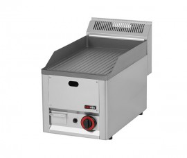Poze Gratar Fry-top gaz striat 480×320 mm