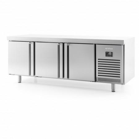 Masa frigorifica centrala pasanta, 2185x800x850 mm