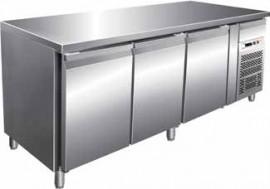Masa frigorifica pentru patiserie cu 3 usi, 2020x800mm