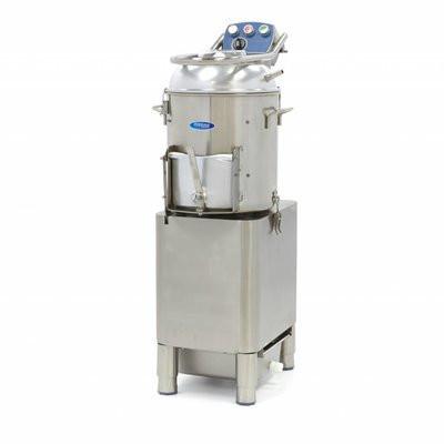 Masina de curatat cartofi 15kg, 300kg/h