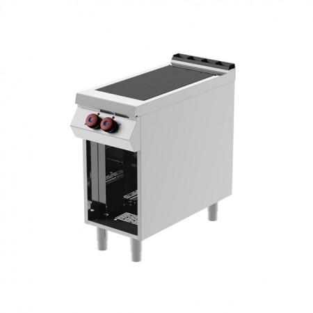 Masina de gatit electrica cu plita prin inductie, 2 zone de coacere