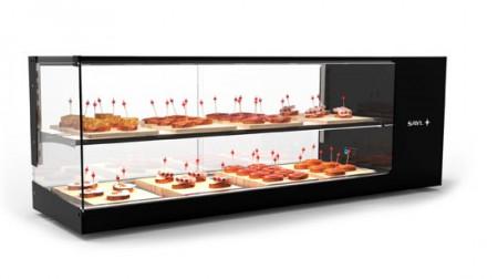 Vitrina frigorifica cu 1 raft, 1320x380x460mm