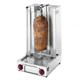 Aparat kebab electric cu 4 arzatoare, 10kg , IR500*