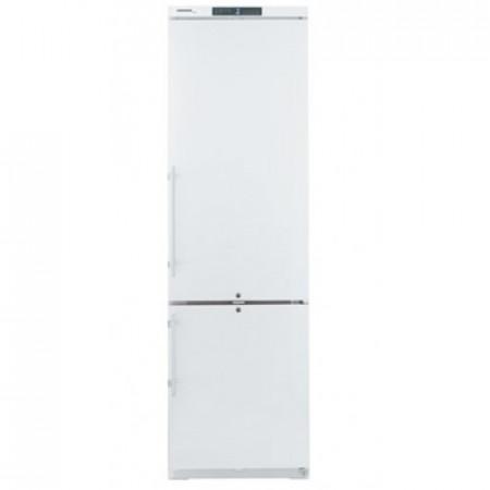 Combina frigorifica din inox 345 l, cu racire dinamica, culoare Alb