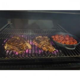 Cuptor pentru steak pe carbuni, Pira 70 LUX Black