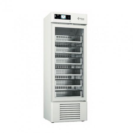 Dulap frigorific pentru spitale / banci de sange , 400 litri , usa de sticla