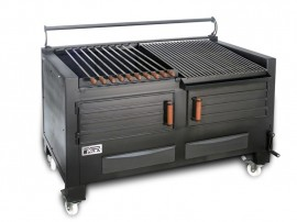 Poze Gratar profesional barbeque pentru steak pe carbuni, 1455X820X930 mm